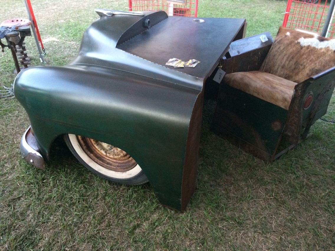 1952 Chevy desk made by relics awry | Relics awry | Pinterest ...