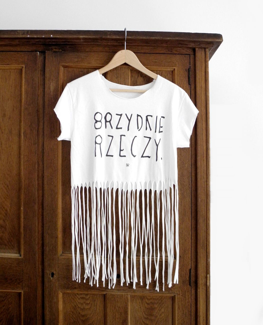 Bialy Fredzel Brzydka Koszulka Z Nadrukiem Koszulki