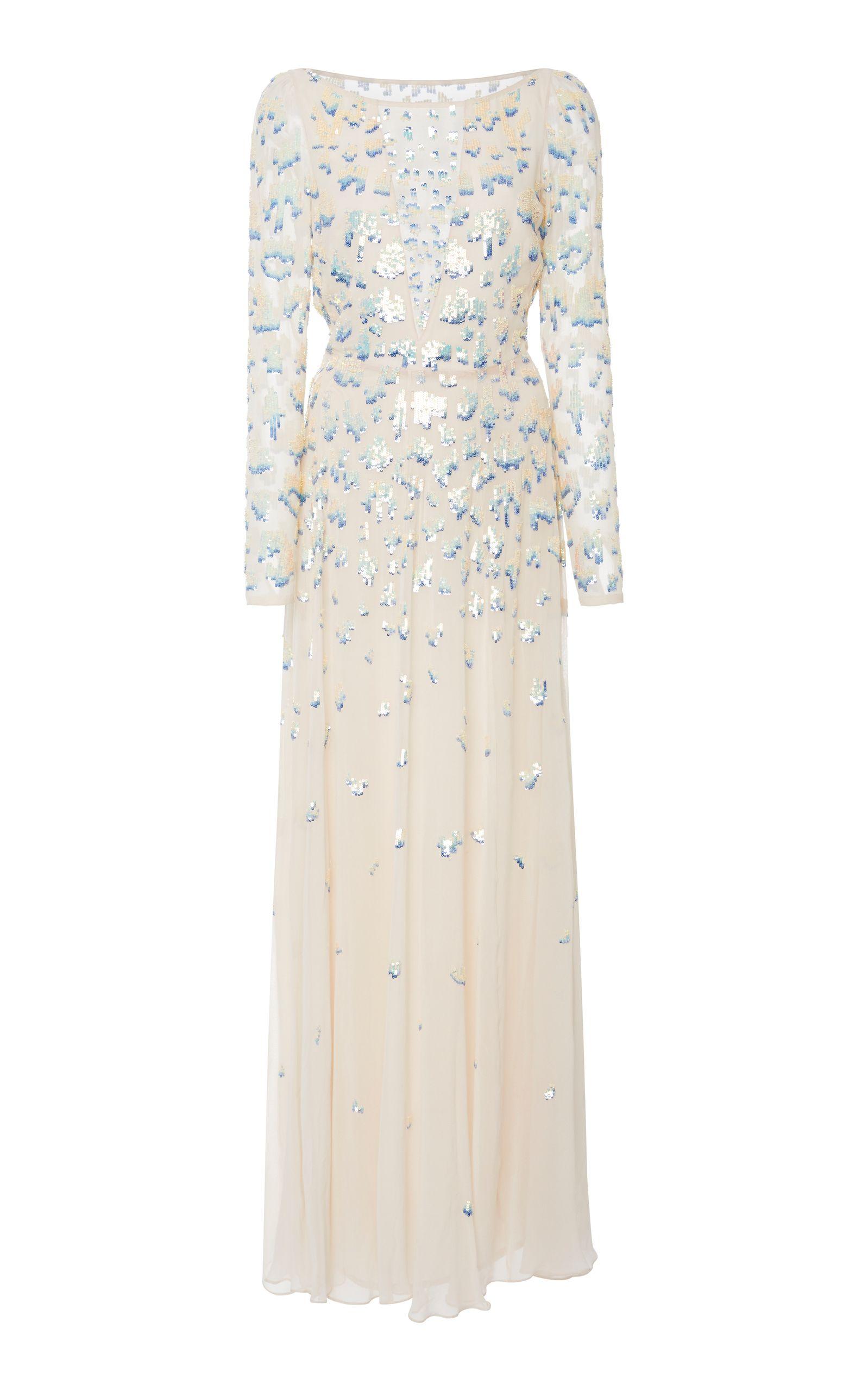 6f69373ad4cc Temperley London Celestial Long Dress