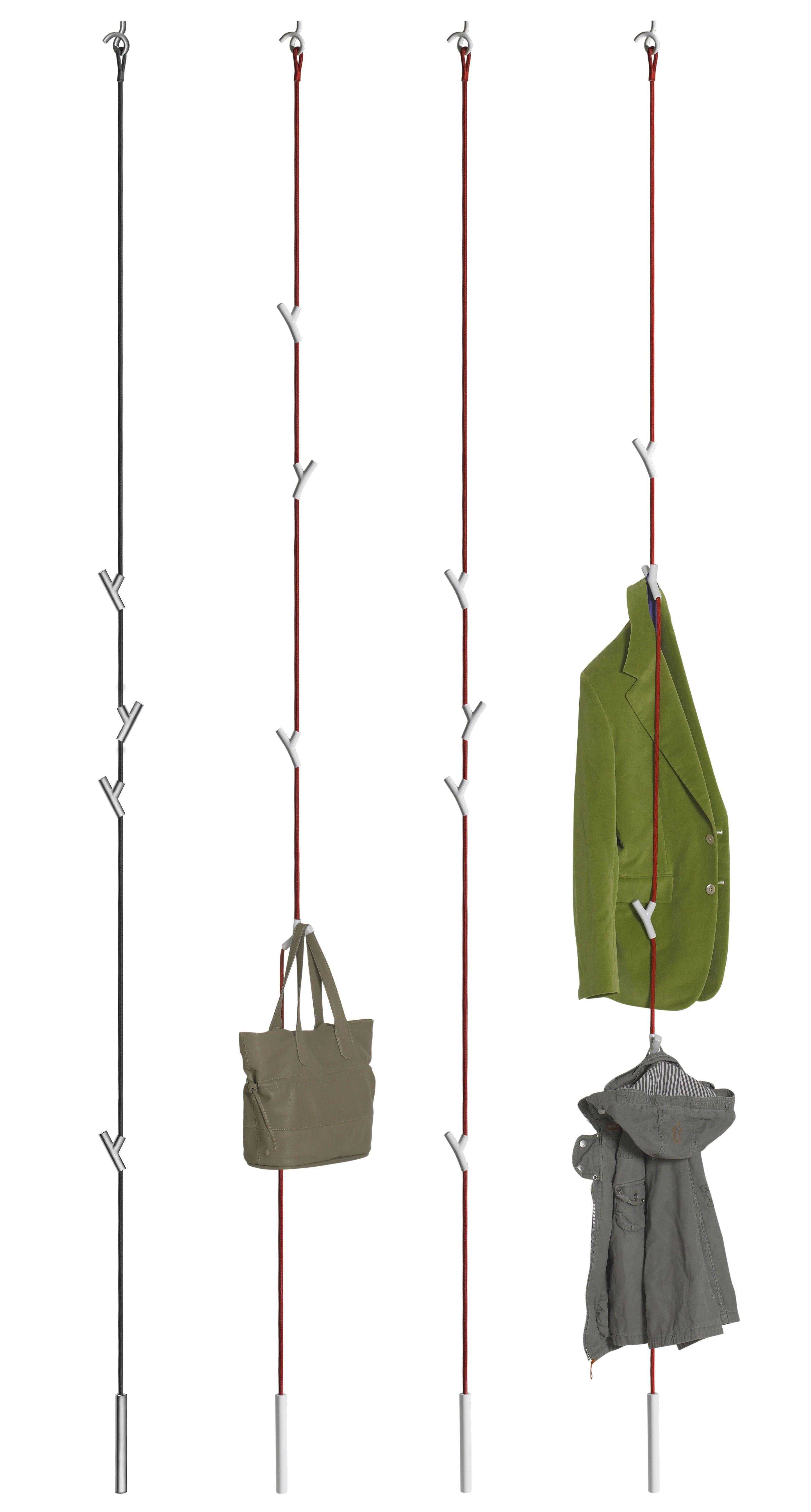 Portemanteau Wardrope corde 4 patères à suspendre | Climbing rope ...