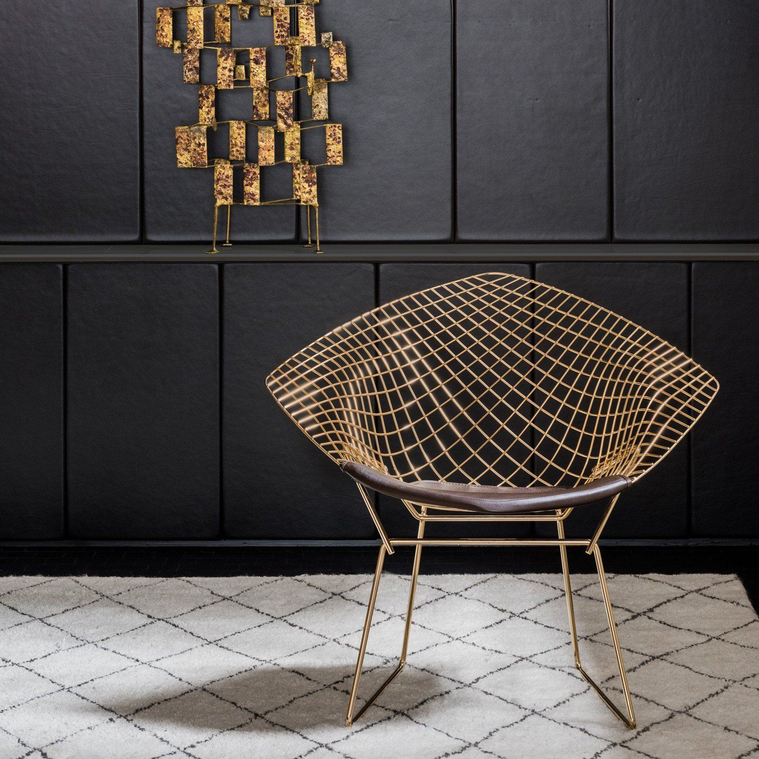 Stupendous The Modern Chair Dipped In Gold Knoll Chairs Modern Alphanode Cool Chair Designs And Ideas Alphanodeonline