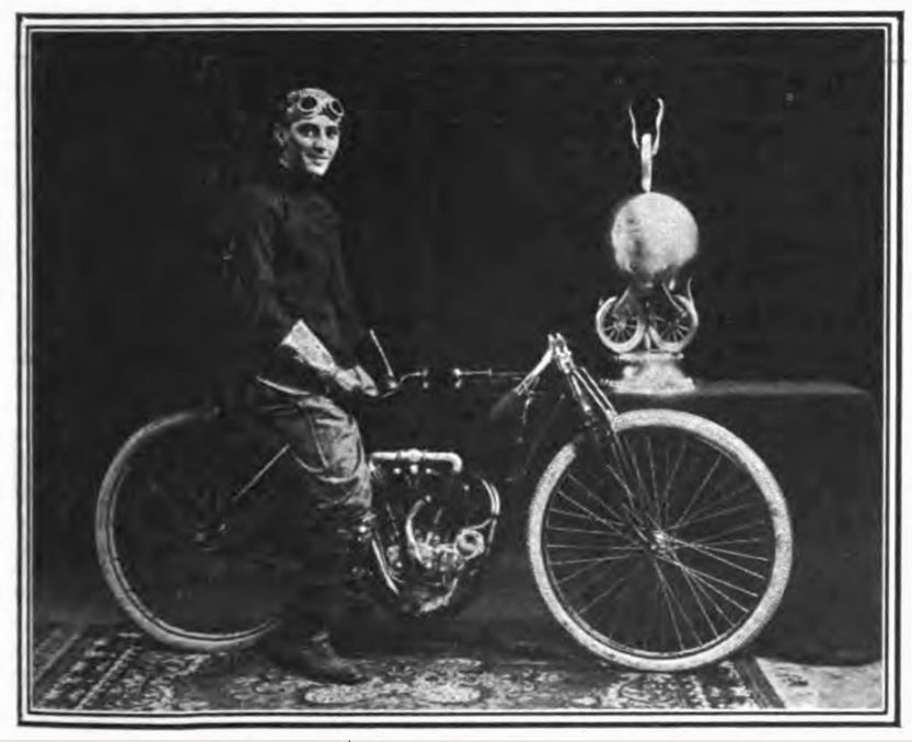 1910_Motorcycle_Illustrated_vol6_page397_Tuebner_with_G&J_Trophy_on_Merkel_picture