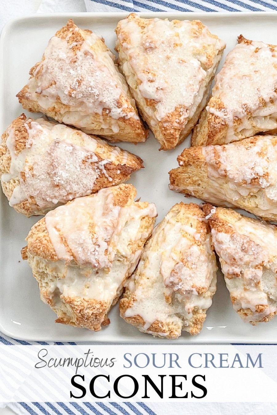 The Amazing Sour Cream Scone Stonegable Recipe In 2021 Sour Cream Scones Cream Scones Recipes