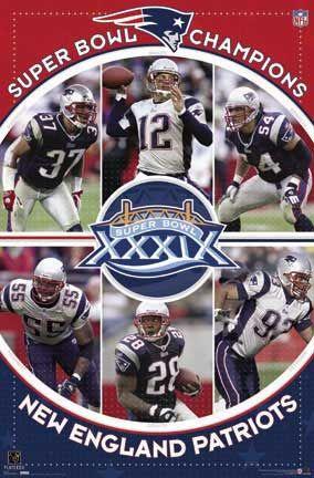 New England Patriots 2005 Super Bowl Champs Posters Barewalls New England Patriots Patriots Nfl New England Patriots