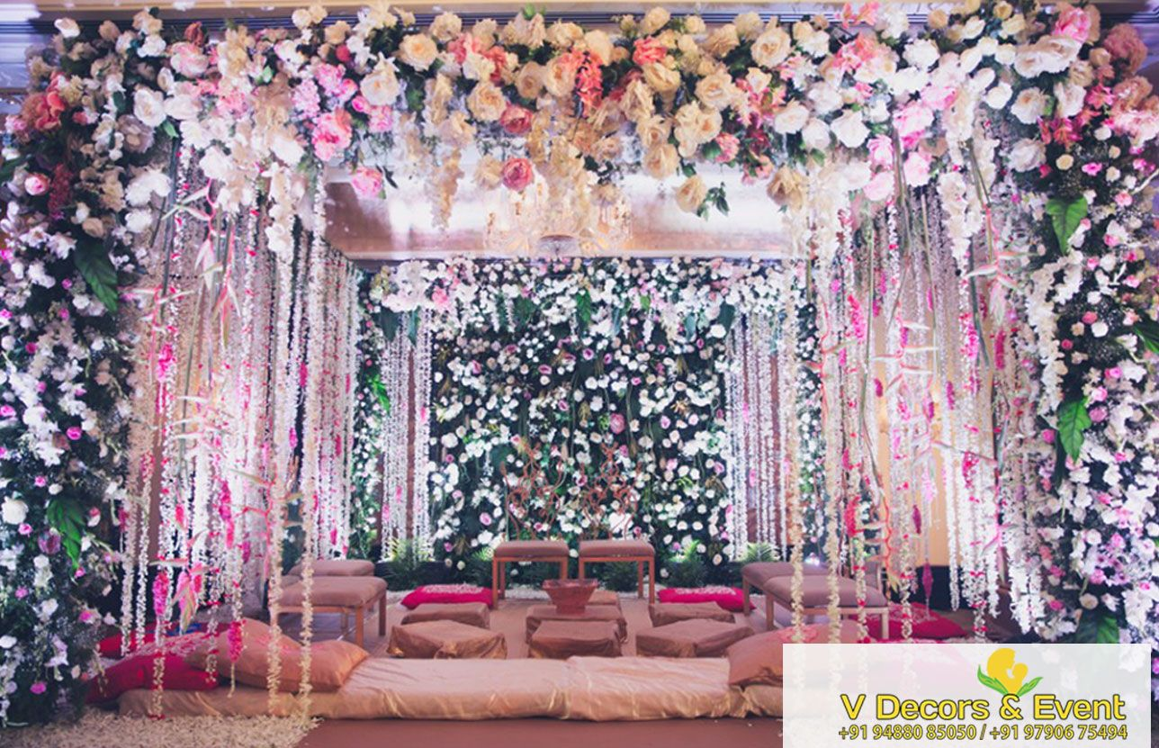 Wedding reception stage decoration images  Reception Stage Decoration  Decorations in Le Pondy pondicherry