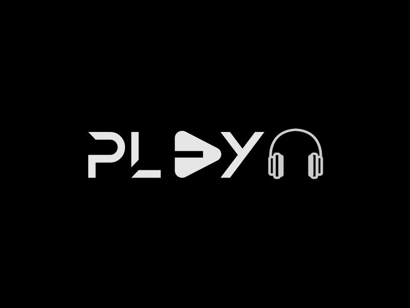 Play Music On Dark Background Dark Backgrounds Background Logo Design