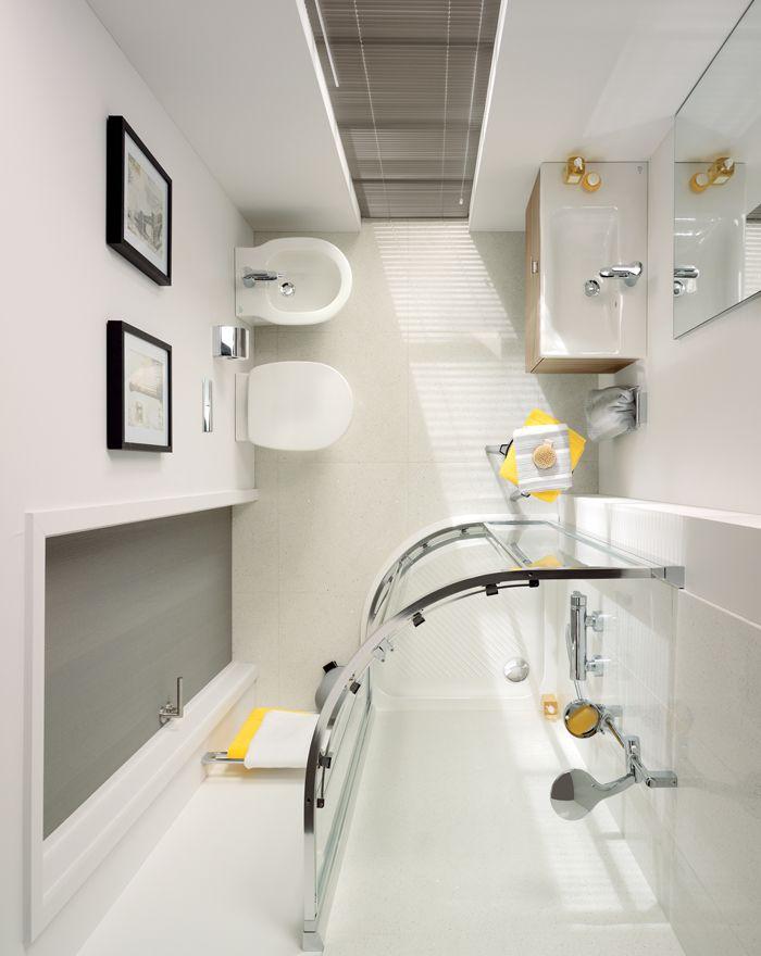 Малка баня | Декор и интериор | Pinterest | Bagni