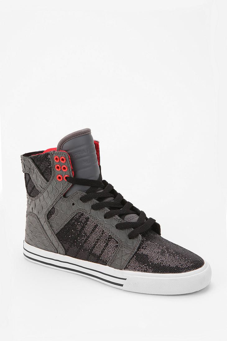 3897127a7eaa SUPRA Society Glitter Panel High-Top Sneaker Online Only... For these shoes