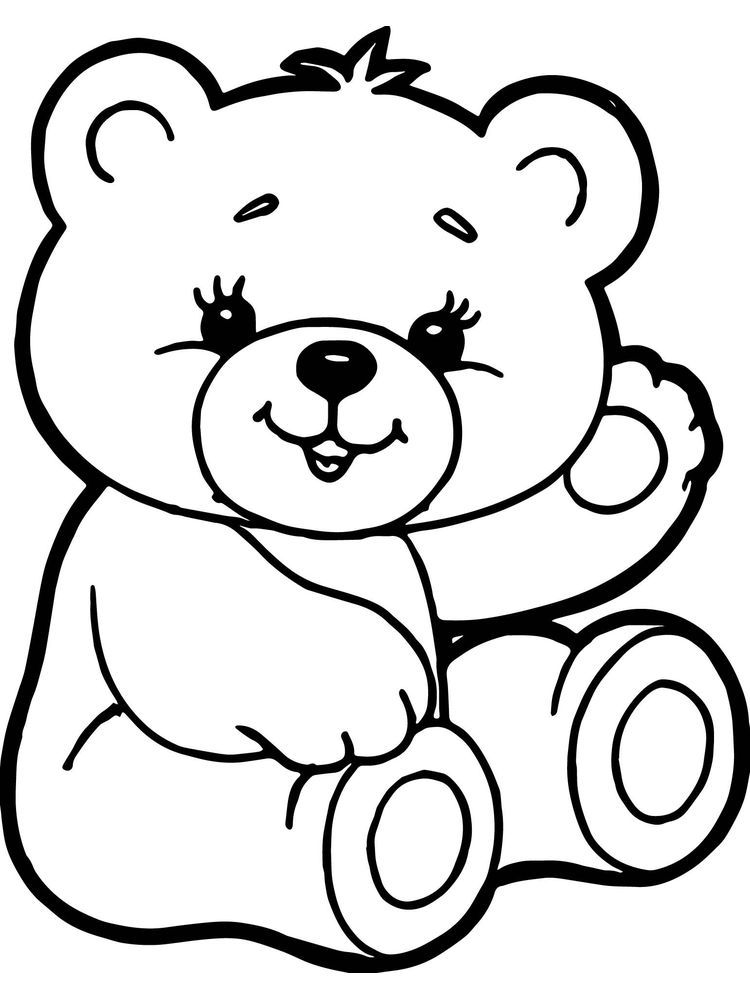 Simple Avengers Coloring Pages Kingsway Coloring Teddy Bear Coloring Pages Teddy Bear Drawing Cartoon Coloring Pages
