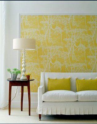 Framed Wallpaper Decoracion De Unas Papel Tapiz Enmarcado Decoracion De Interiores