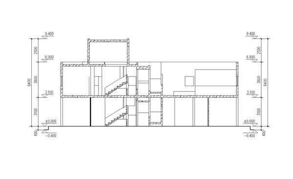 Villa Savoye Le Corbusier Autocad Drawings Download Pinterest