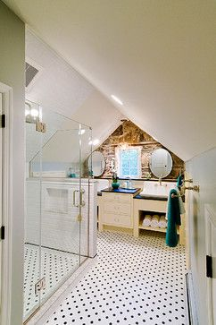 chalfont master suite - traditional - bathroom