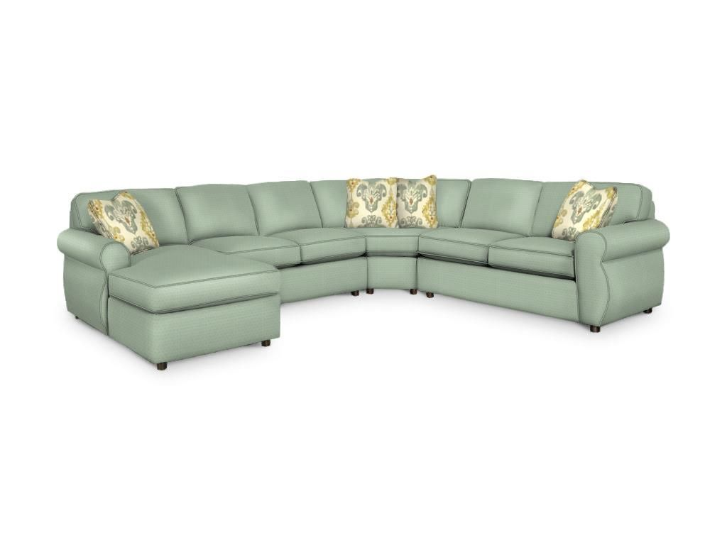Craftmaster Living Room Sectional 7301-Sect - CraftMaster ...