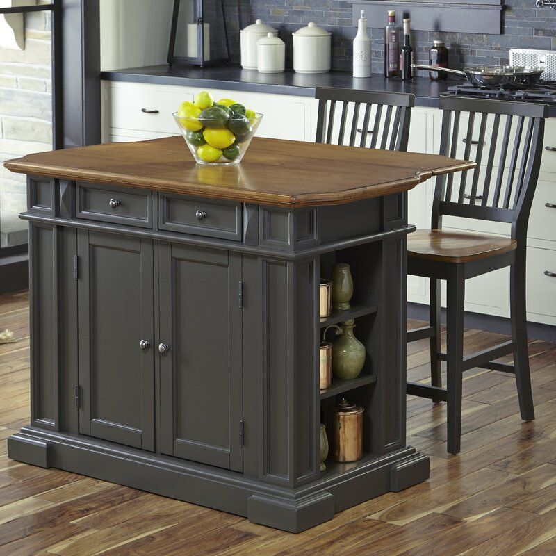 Collette Kitchen Island Set Kitchen Table With Storage Kitchen Island With Granite Top Kitchen Island Table