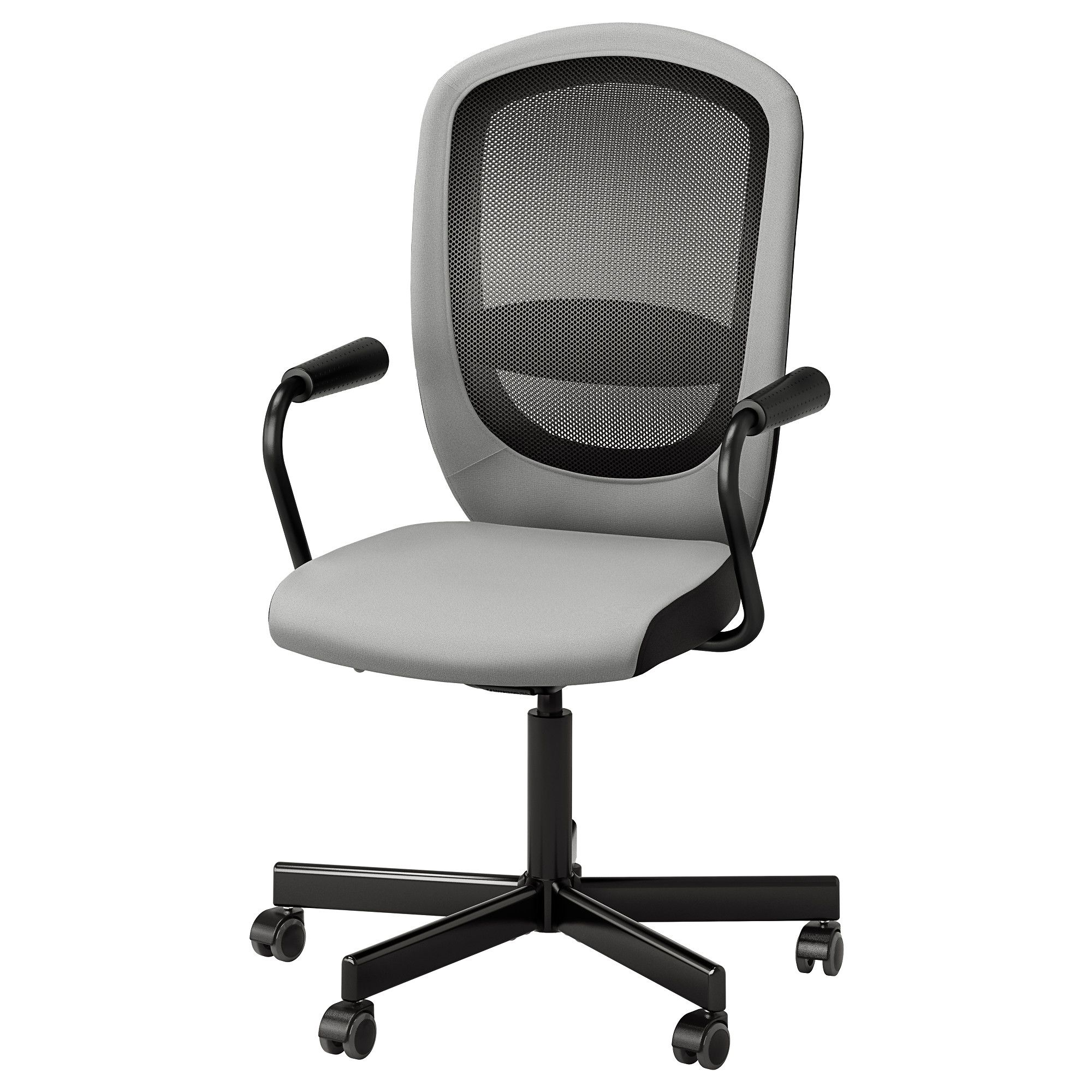IKEA FLINTAN NOMINELL swivel chair with armrests Relieves strain