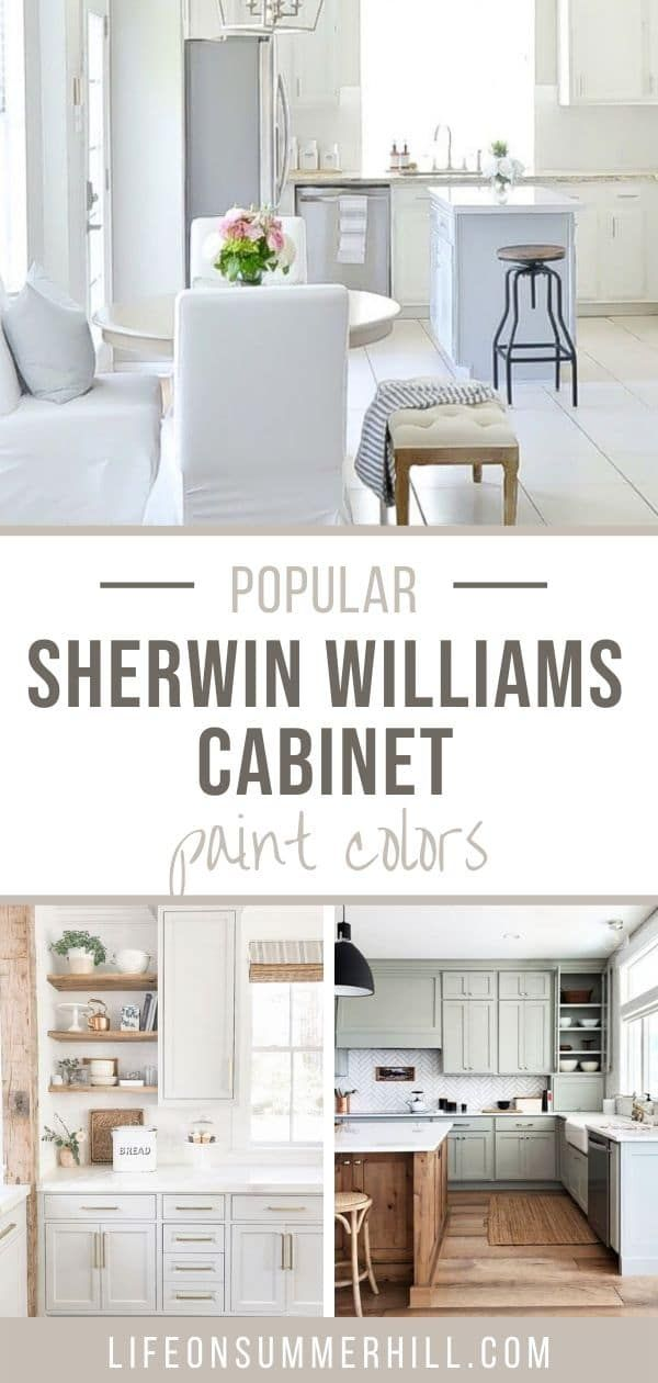 POPULAR SHERWIN WILLIAMS CABINET PAINT COLORS