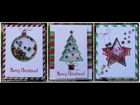 To You & Yours Shaker Cards Project Kit by Stampin' Up! - YouTube | Shaker cards, Stampin up ...