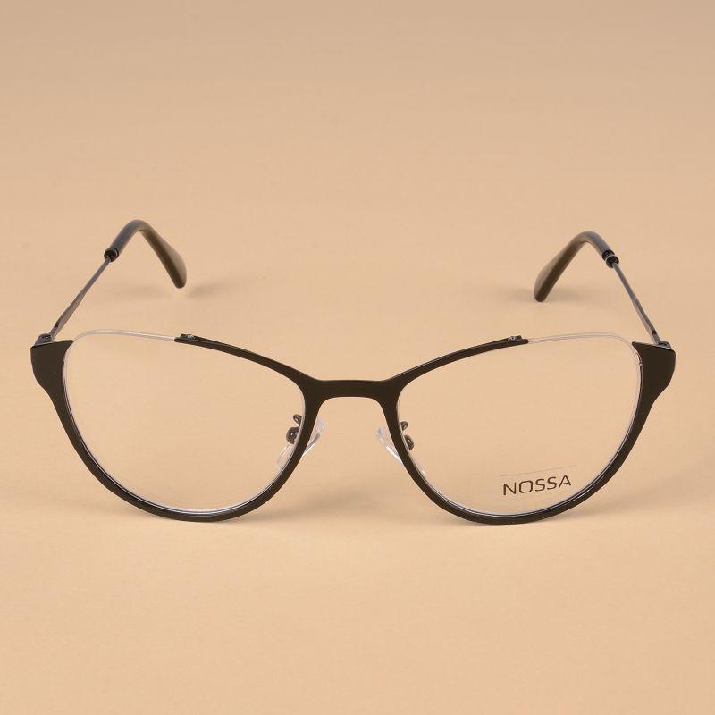 1cfd1d6539 Cat Eye Women Metal Optical Glasses Frame Female Personality Myopia Frame  Cool Eyeglasses Lady Cateye Spectacle Casual Eyewear