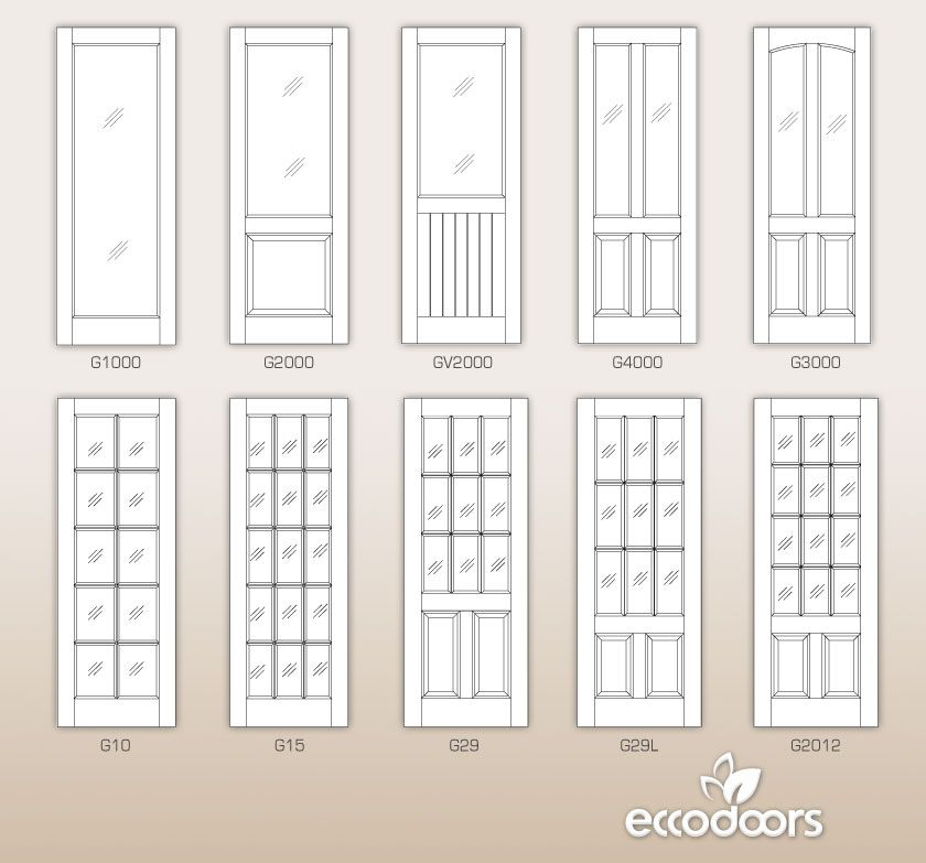 Custom Interior Mdf Doors Ecco Doors For The Home Pinterest