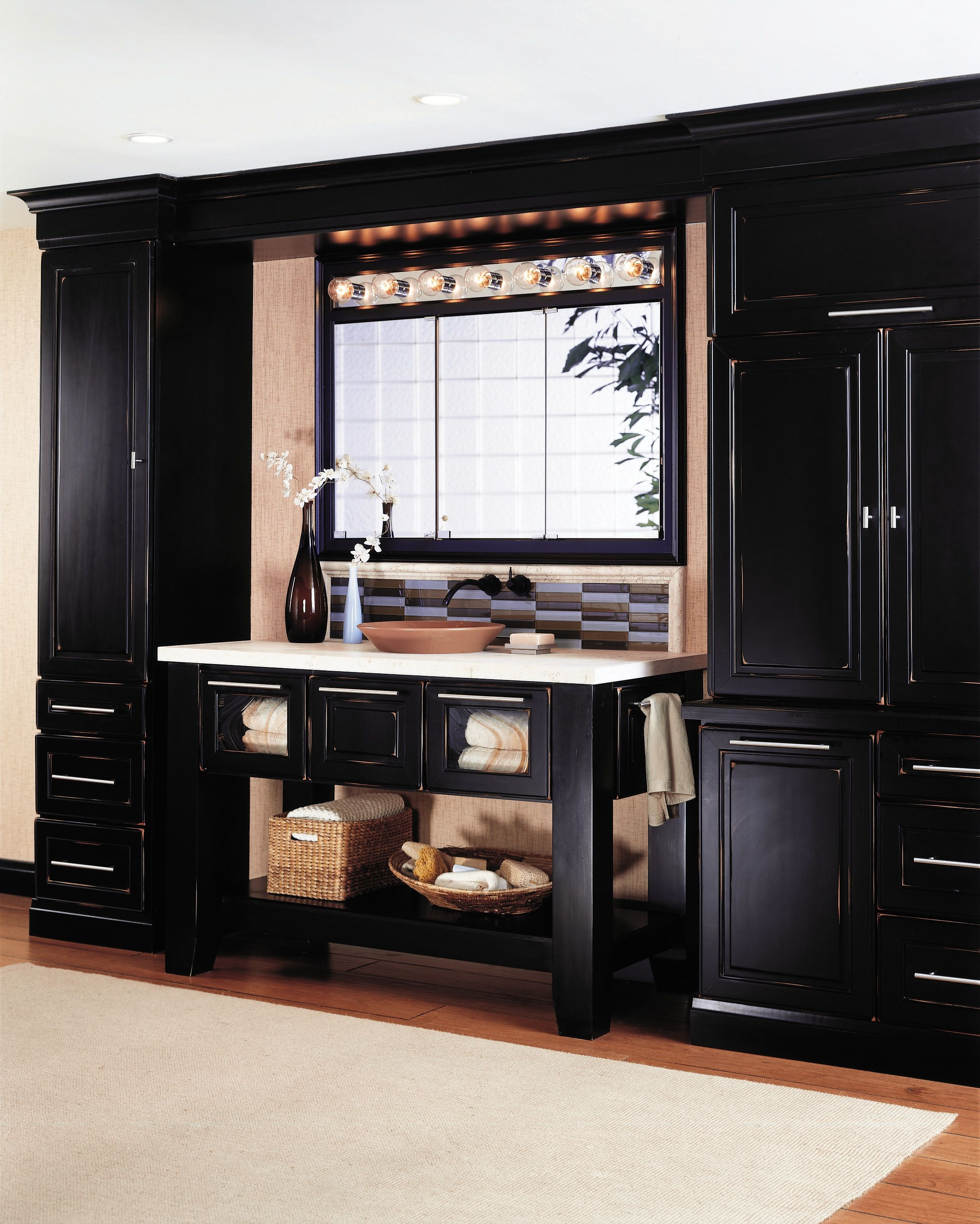 Wellborn cabinets are available at several price points, offering ...
