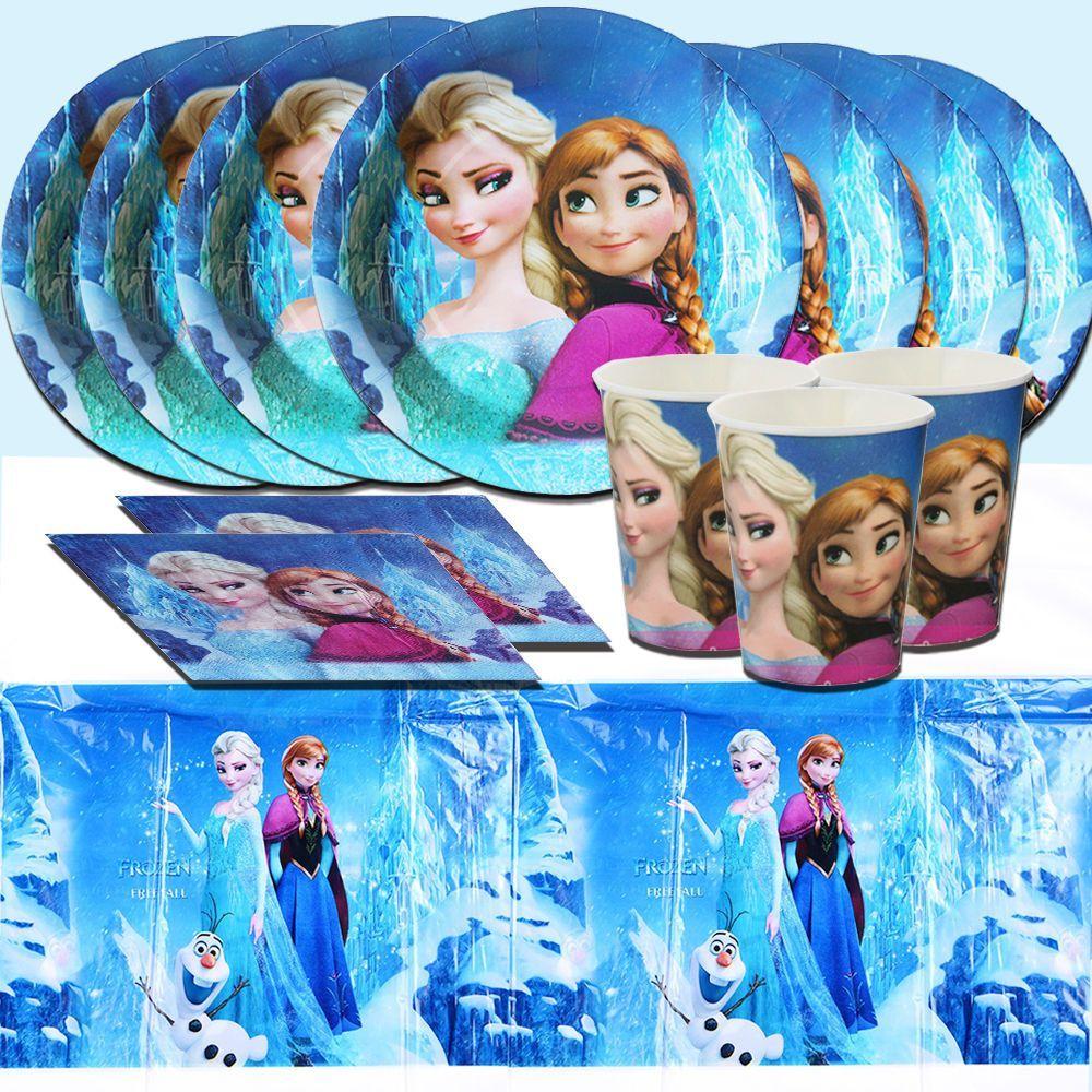 Disney Frozen Birthday Party Supply Decoration Tableware