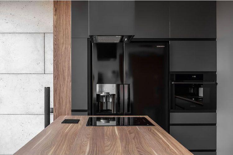 Schön Stilvolle Einrichtung Boyfriend Style Maenner Küche Schwarz Holz