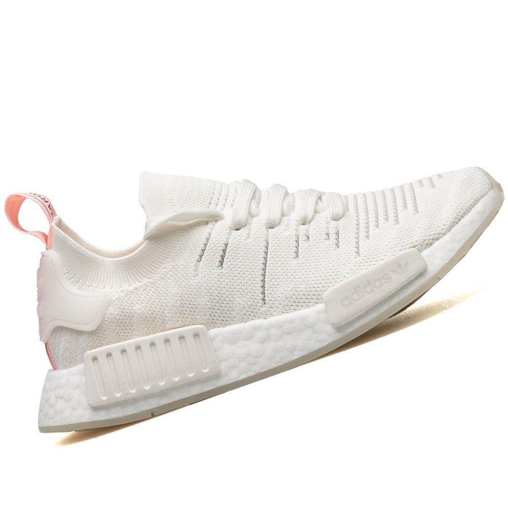 ADIDAS WOMENS Shoes NMD R1 STLT PK Cloud White & Clear