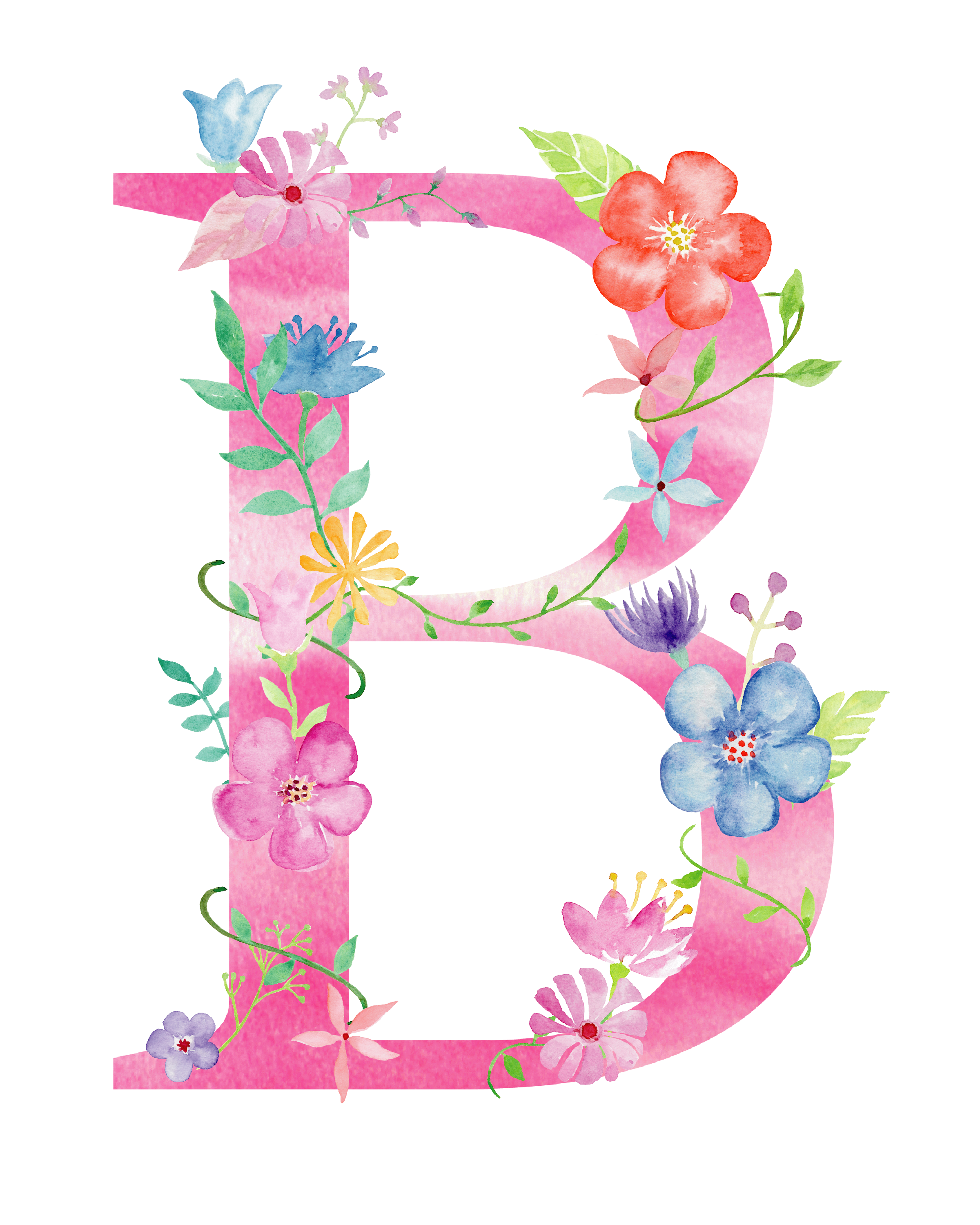 Pin By Daro Kampung On Alphabet Flower Letters Floral Letters Monogram Wallpaper