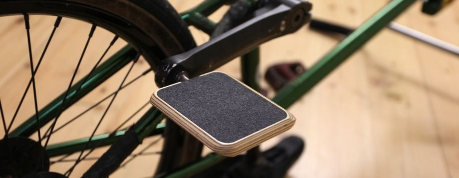 Moto Bicycles Wooden Composite Pedals Super