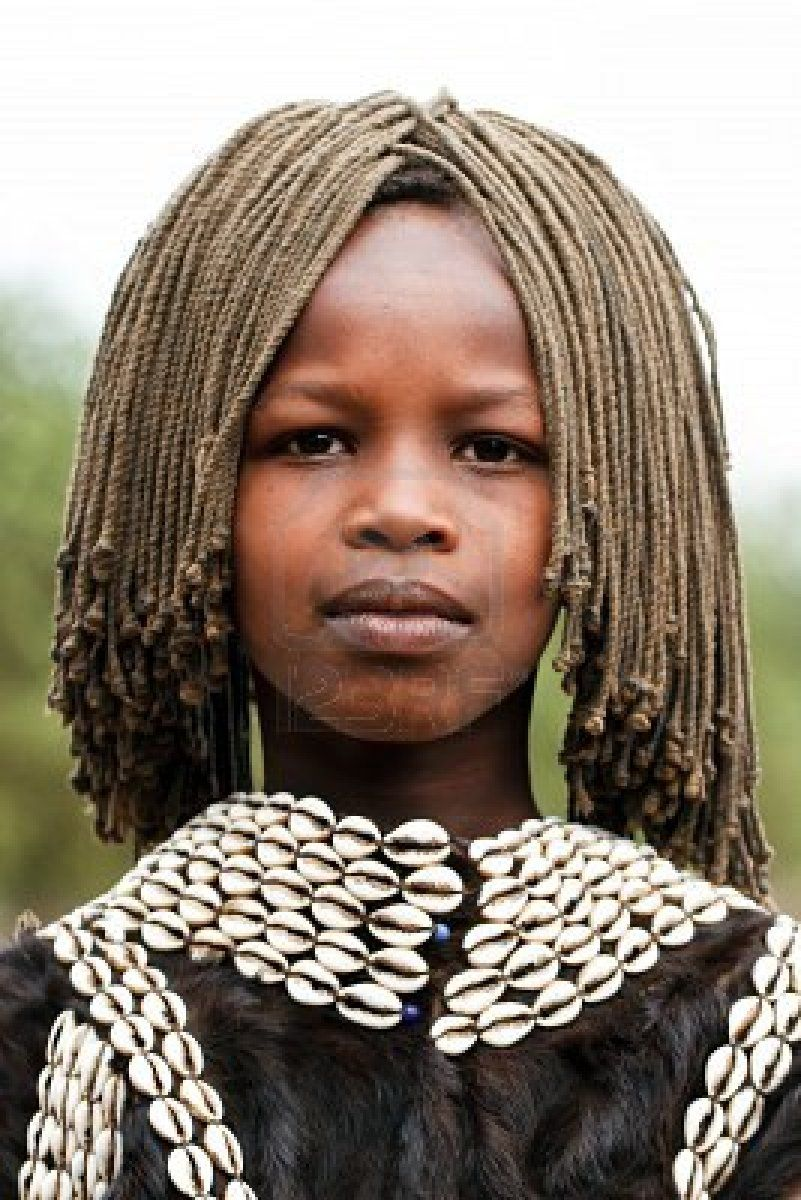 Africa   Tsemay girl. the Tsemay are the shepherds who inhabit the lower Omo Valley. Ethiopia   © Hector Conesa