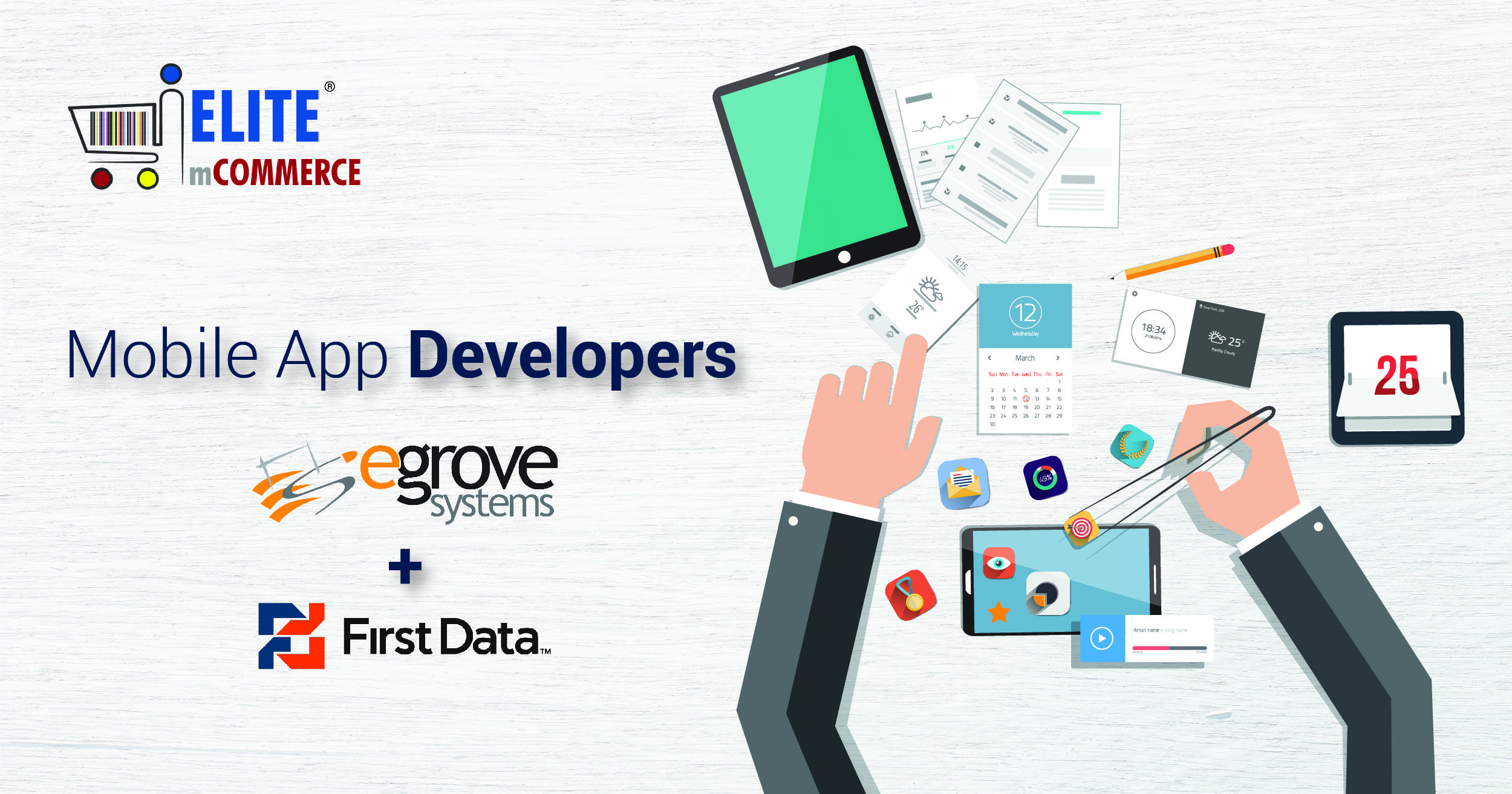 Egrove Systems Corporation is integrated with the mobile