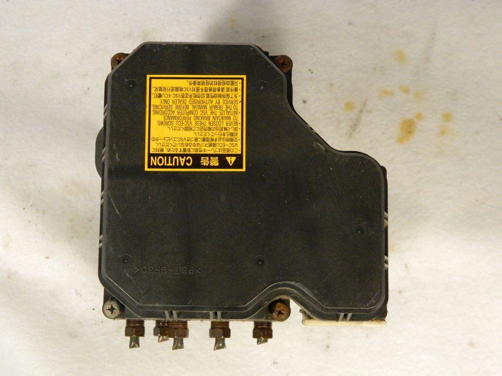 2006 2010 Toyota Sienna 89541 08130 Abs Anti Lock Brake Pump Control Module Toyota Toyota Sienna Toyota Abs