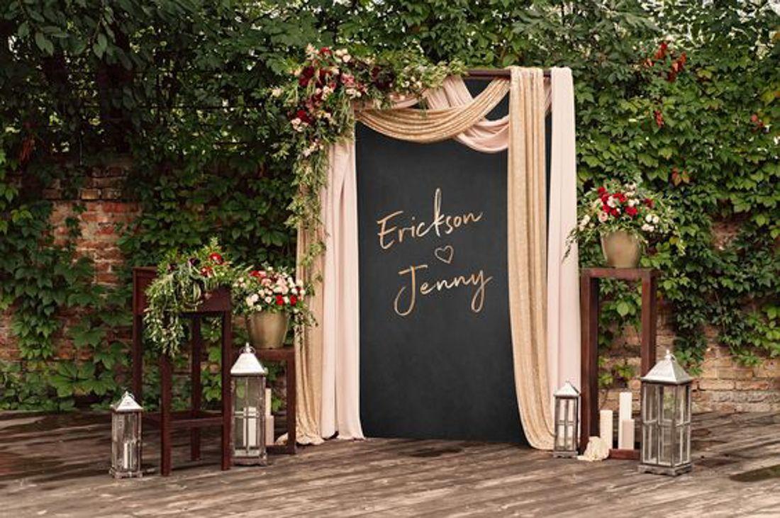 11 Unique Wedding Ceremony Arch Ideas   Vintage wedding backdrop ...