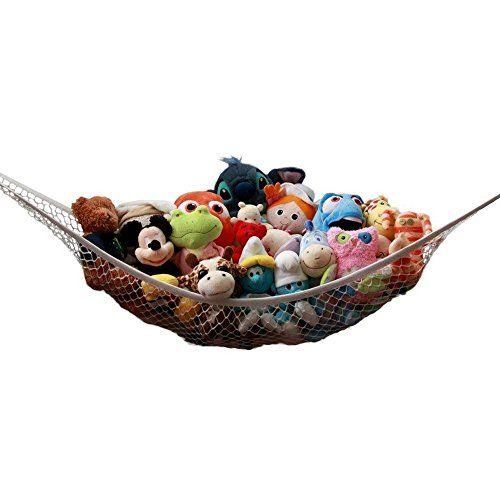 Toy Storage Ideas Hy Hours Babies Children Kids Stuffed Animal Doll Net Mesh Hammock Organizer Tidy Container Hanging In Wall Corner