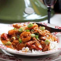 #191943 - Creole Chicken Shrimp Sausage Stew