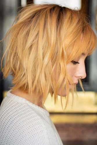 45 Versatile Medium Bob Haircuts To Try Lovehairstyles Com Bobs Haircuts Shaggy Bob Haircut Bob Haircut With Bangs