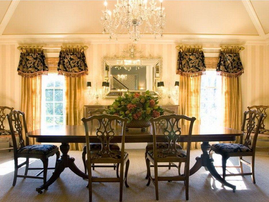 41++ Elegant dining room curtains ideas in 2021