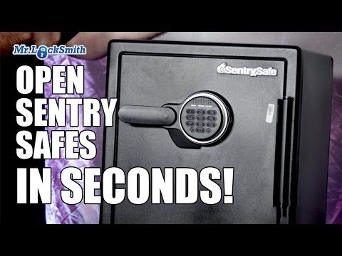 How To Break Into Any Electronic Safe No Tools Youtube With