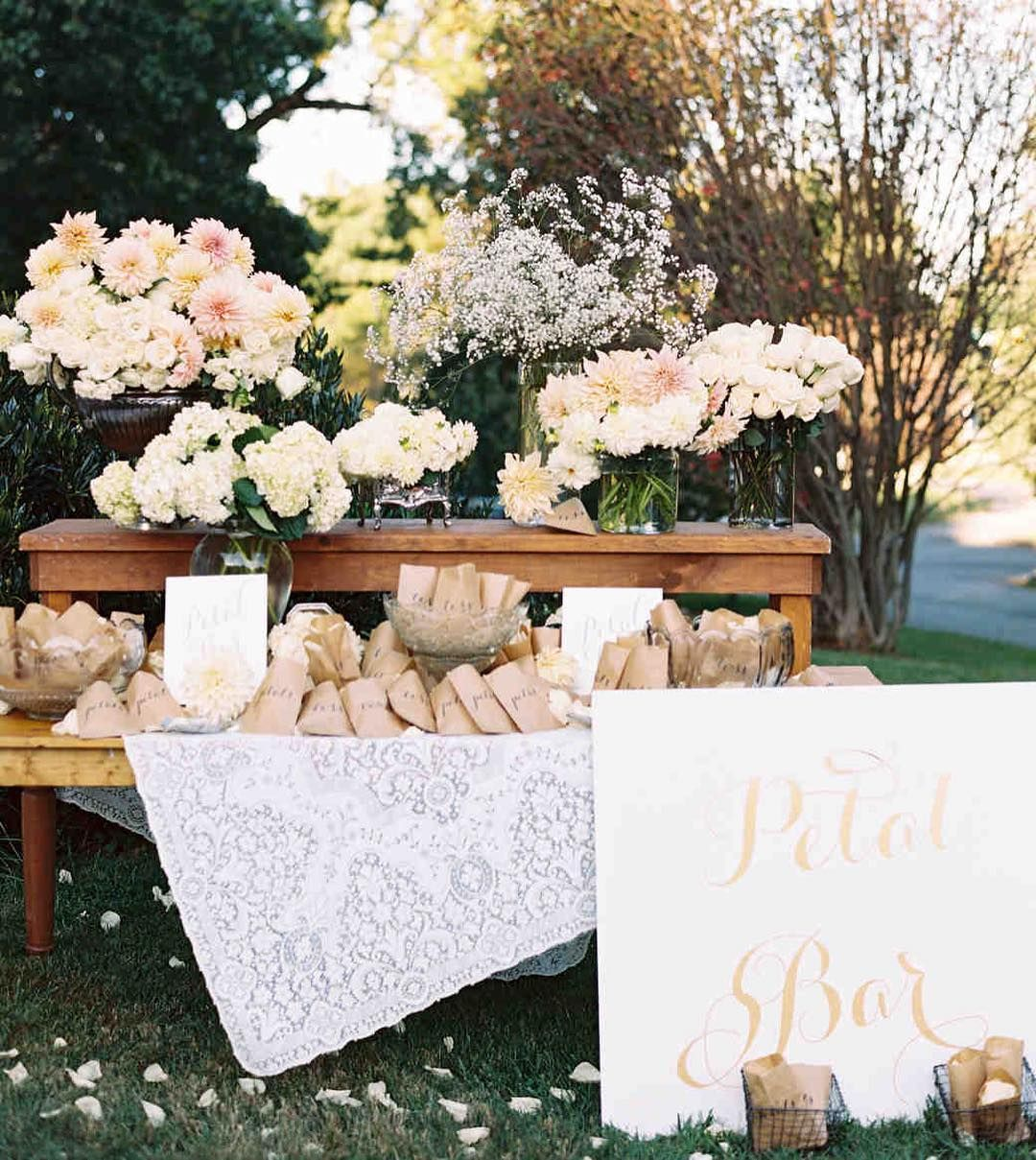 Wedding decorations without flowers  Martha Stewart Weddings on Instagram ucRather than supplying a