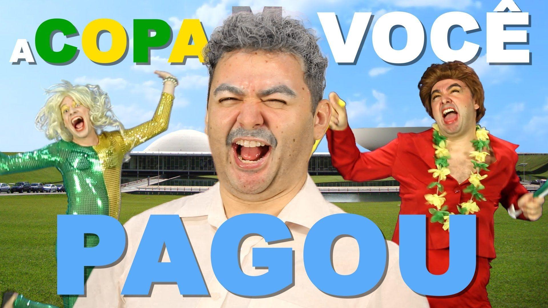A Copa Voce Pagou Parodia We Are One Tema Da Copa 2014 Galo