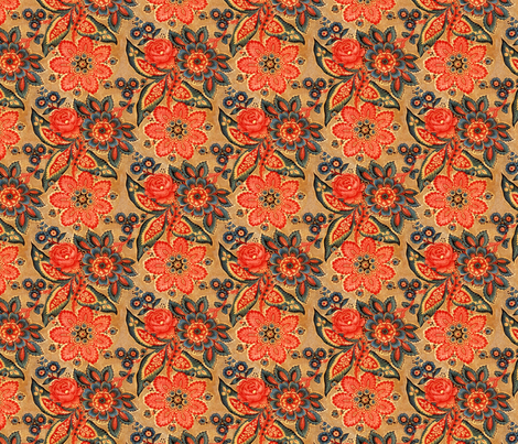 Colorful Fabrics Digitally Printed By Spoonflower Traditional