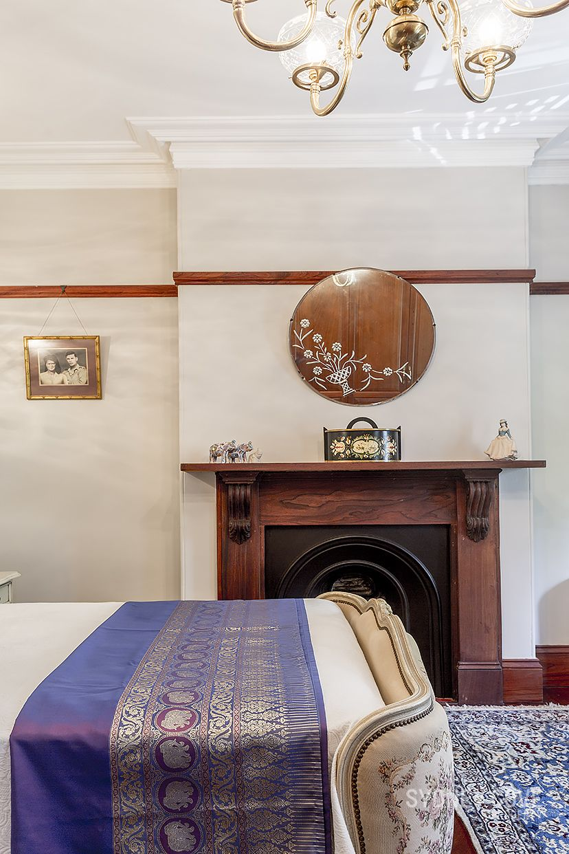 property photo Dining room fireplace, Kent street, Grand