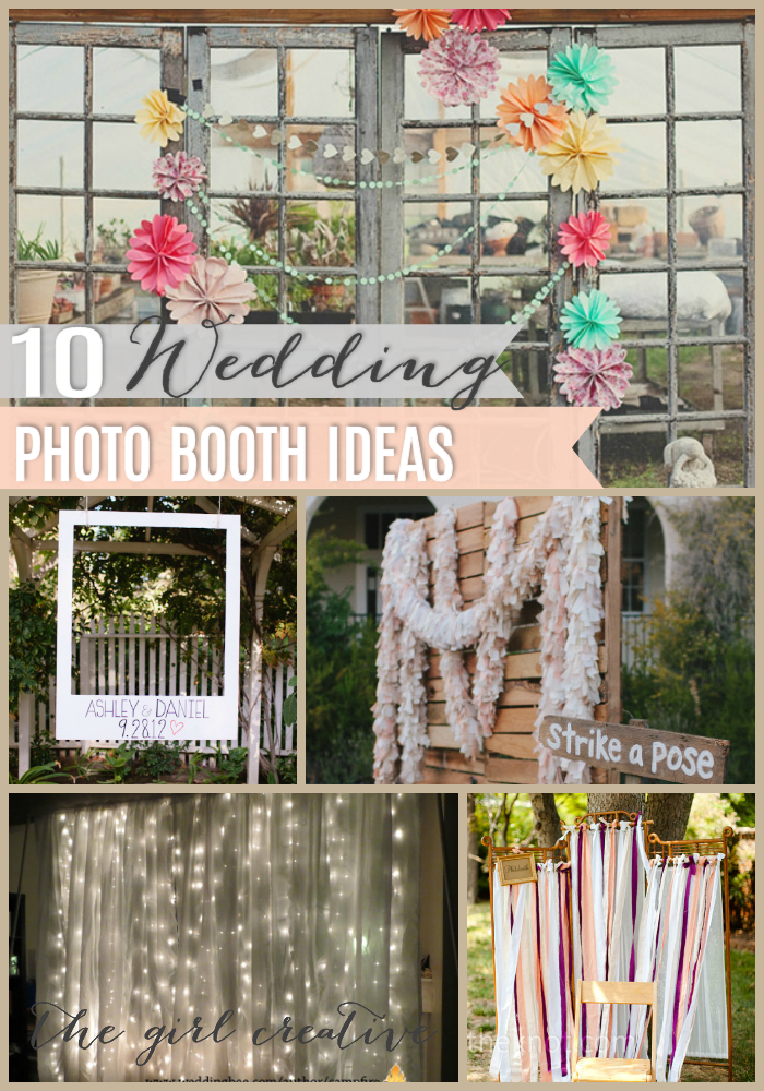 10 Diy Wedding Photo Booths