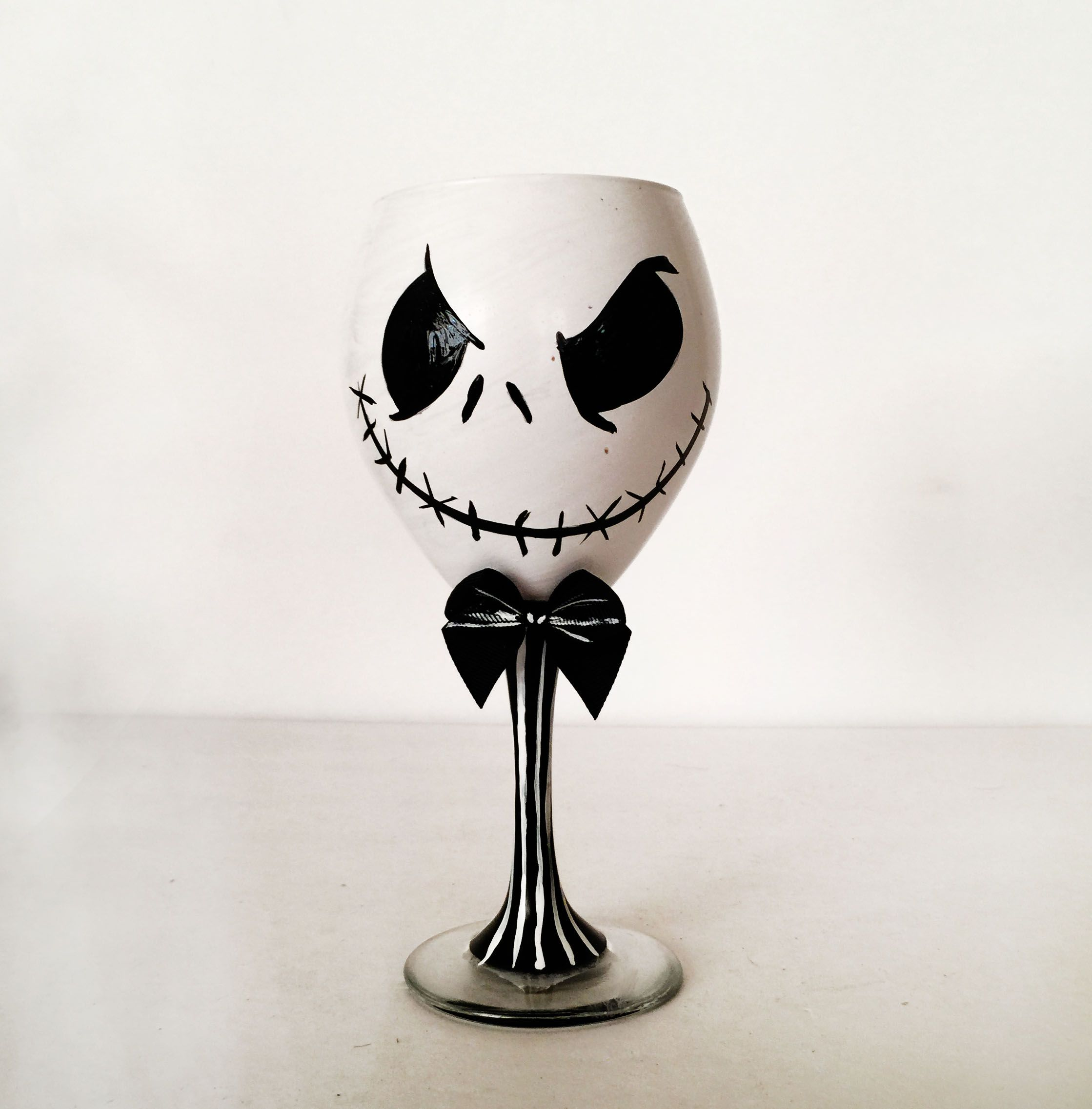 Jack Skellington Wine Glass - 21 oz | Gift Ideas | Pinterest | Jack ...