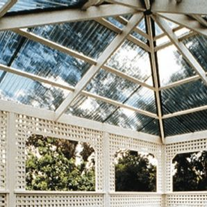24 Quot X 8 Suntuf Clear Polycarbonate Panel Pergola Ideas