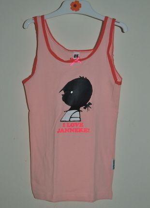 À vendre sur #vintedfrance ! http://www.vinted.fr/mode-enfants/filles-sous-vetements/22499970-debardeur-a-bretelles-orange-avec-tete-de-petite-fille