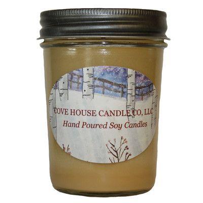 Very Vanilla Scented Jar Candle