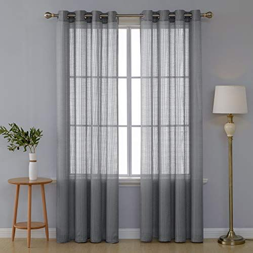deconovo paire rideau gris chambre