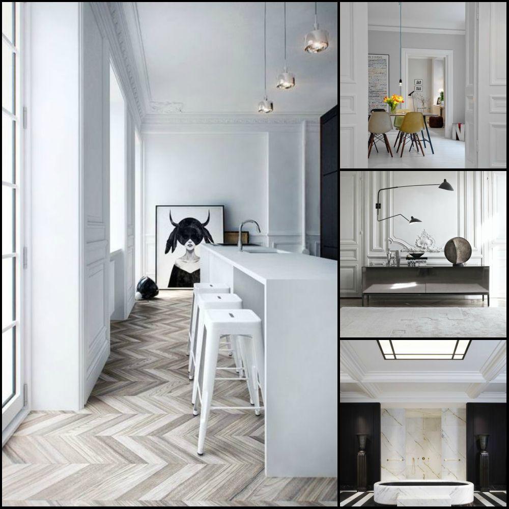 30 Black White Living Rooms That Work Their Monochrome Magic: Использование прекрасного белого в интерьере