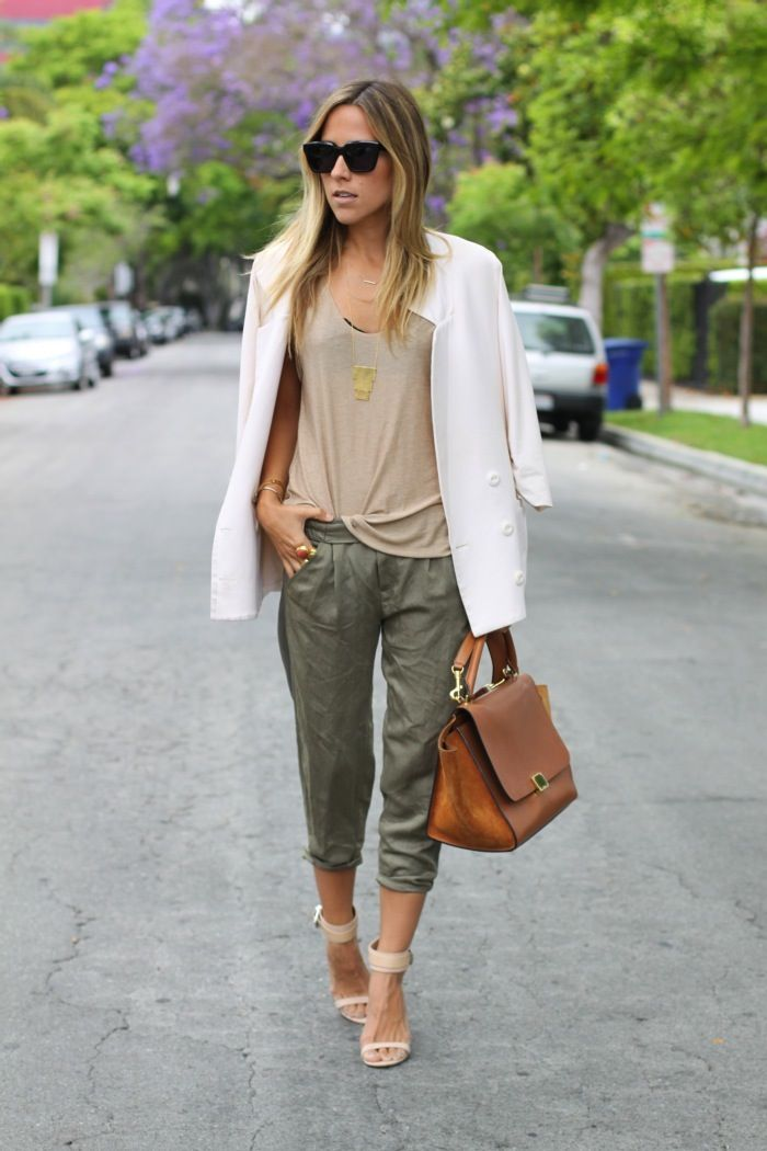 what to wear with army green pants - Pi Pants